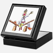 Karate Duck 1 Keepsake Box