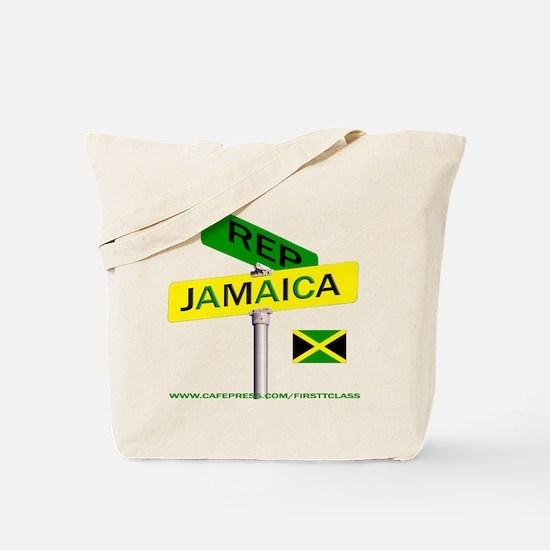 REP JAMAICA Tote Bag