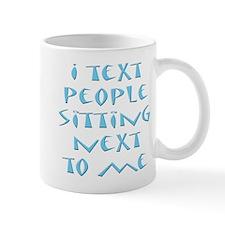 Funny Textaholic Cell Phone A Mug