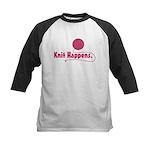 Knit Happens Kids Baseball Jersey