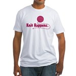 Knit Happens Fitted T-Shirt