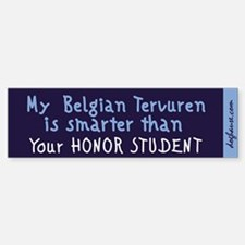 Belgian Tervuren Bumper Bumper Bumper Sticker