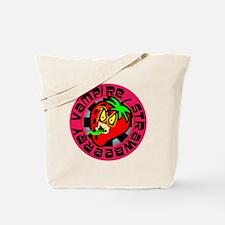 Vampire Strawberry Tote Bag