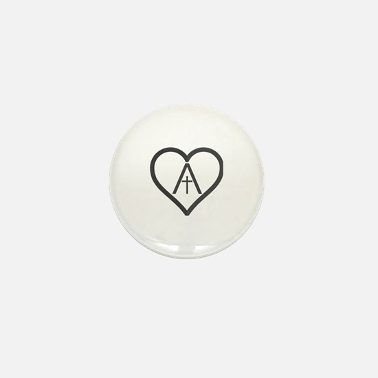 Cute Agape Mini Button