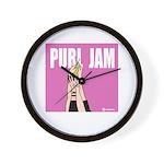Purl Jam Wall Clock