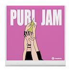 Purl Jam Tile Coaster