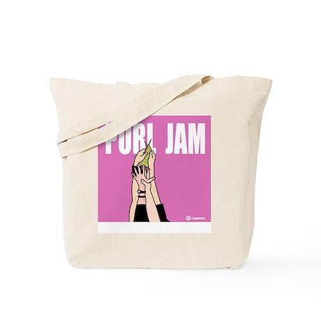 Purl Jam Tote Bag