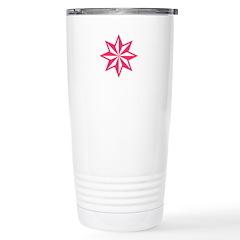 Pink Guiding Star Stainless Steel Travel Mug