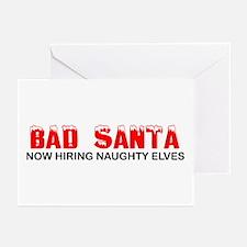 Bad Santa Greeting Cards (Pk of 10)