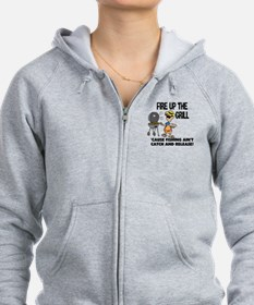 Fire Up The Grill Zip Hoodie