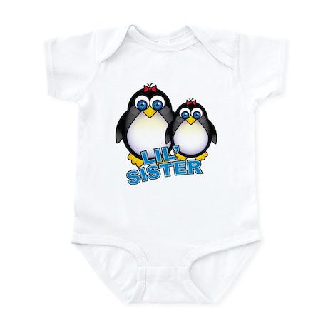 Lil' Sister Penguins Infant Bodysuit