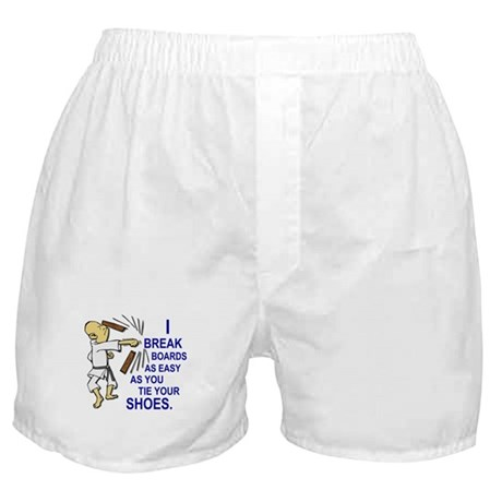 Funny Man Breaking Board 2 Boxer Shorts