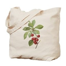 Cherry Branch Tote Bag