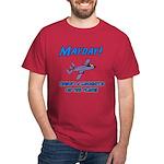 Sasquatch On The Plane! Dark T-Shirt