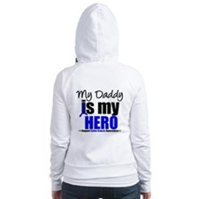 Colon Cancer Hero Fitted Hoodie
