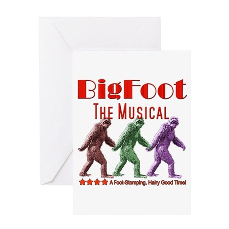 Bigfoot The Musical Greeting Card