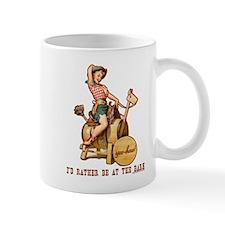 I'd rather be at the barn Mug