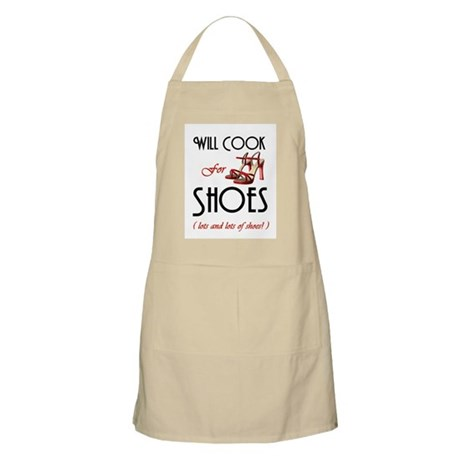 Cook For Shoes BBQ Apron
