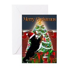 MadDog's Xmas Tree Greeting Cards (Pk of 20)