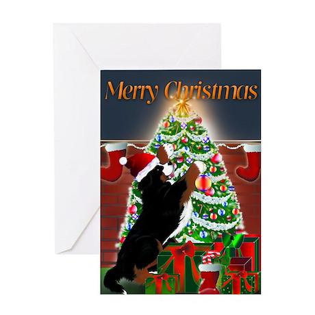 MadDog's Xmas Tree Greeting Card