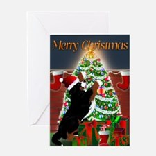 MadDog's Xmas Tree Greeting Card
