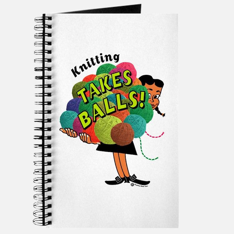 Knitting Takes Balls Journal