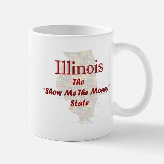 Illinois Show Me The Money Mug