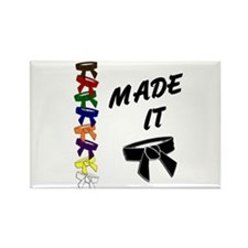 Made It 3 Rectangle Magnet (10 pack)