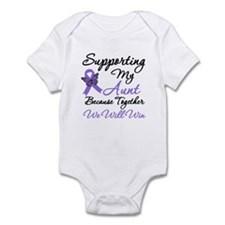 Hodgkin's Support Aunt Infant Bodysuit