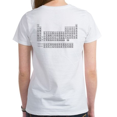Table of Elements (Back) Women's T-Shirt