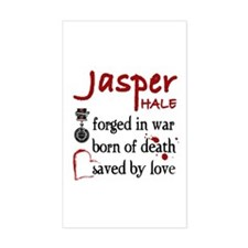 Jasper: Saved by Love Rectangle Decal
