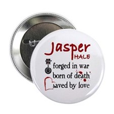 "Jasper: Saved by Love 2.25"" Button"