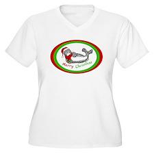 Christmas Harbor Seal T-Shirt