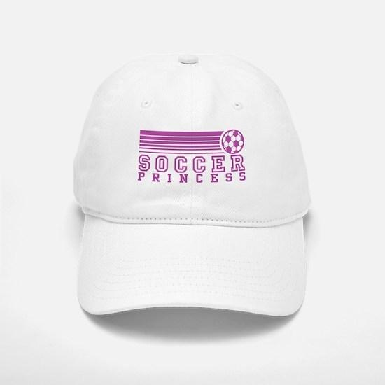 Soccer Princess Baseball Baseball Cap