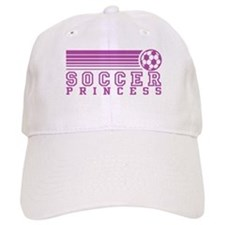 Soccer Princess Baseball Cap