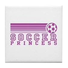 Soccer Princess Tile Coaster
