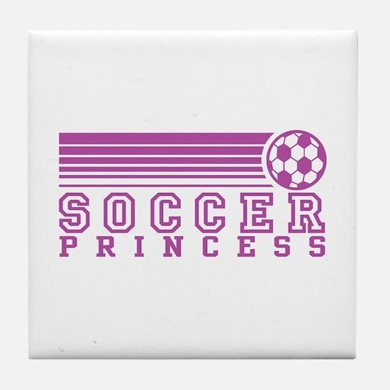 Soccer Princess Tile Coaster