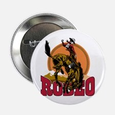 """Rodeo Bronco 2.25"""" Button (10 pack)"""