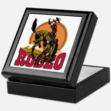 Rodeo Bronco Keepsake Box