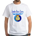 Santa Cruz Jews White T-Shirt