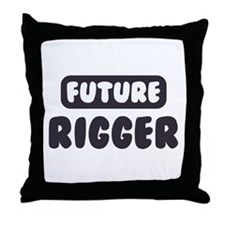 Future Rigger Throw Pillow