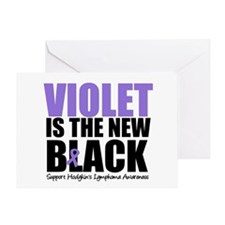 Violet is The New Black Greeting Card