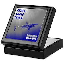 Great White Shark Keepsake Box