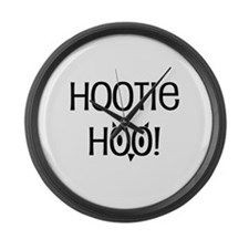 Hootie Hoo Large Wall Clock