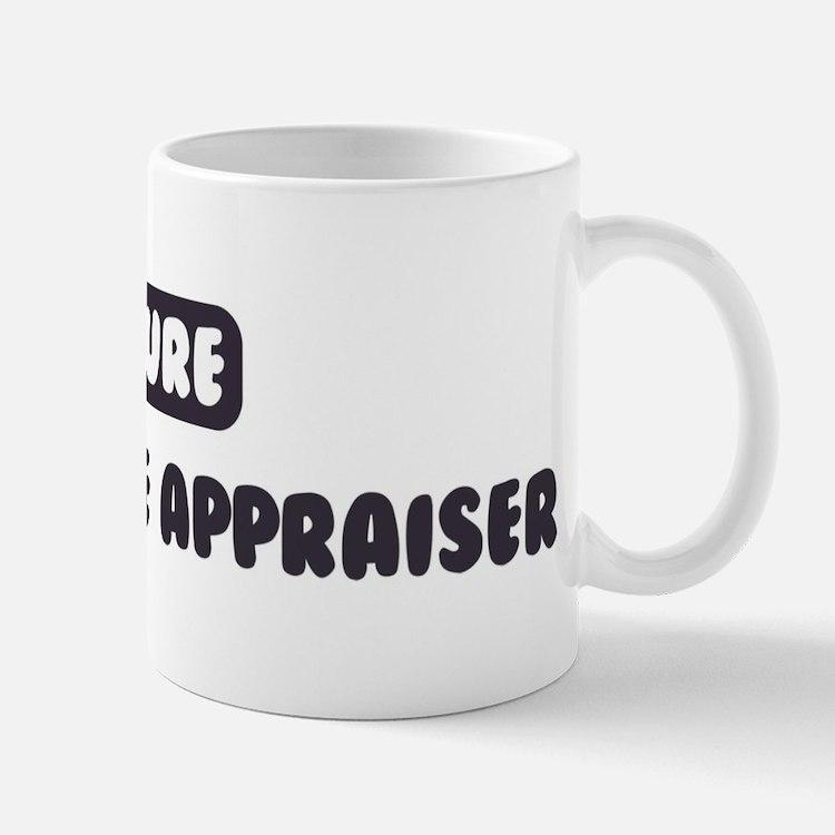 Future Real Estate Appraiser Small Small Mug