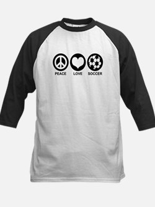 Peace Love Soccer Tee
