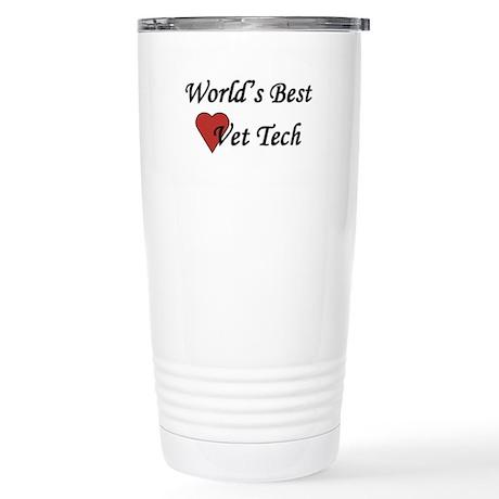 World's Best Vet Tech - Stainless Steel Travel Mug