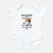 Never Mind for Boy or Girl Infant Bodysuit