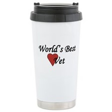 World's Best Vet - Travel Coffee Mug