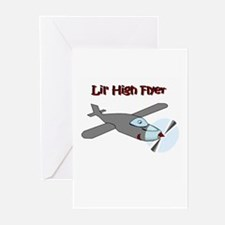 lil' high flyer Greeting Cards (Pk of 10)